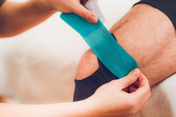 Rigid Strapping/ Kinesio Taping